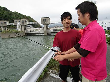 余暇活動(魚釣り)